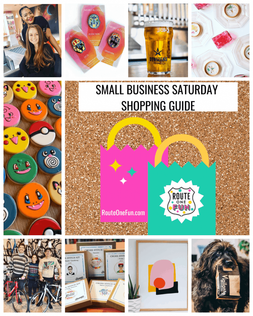 Route One Fun Small Business Saturday Shopping Guide