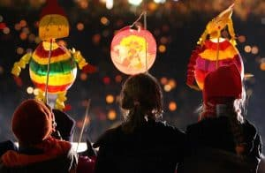 Lantern Festival at Old Parish House in College Park