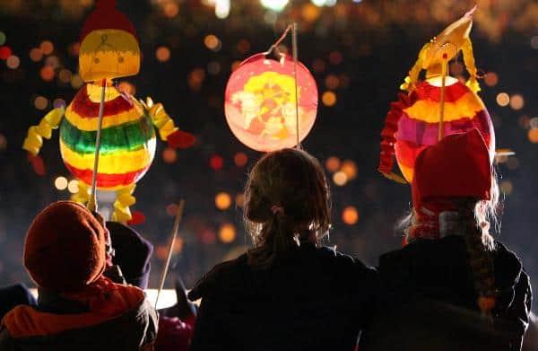 Lantern Festival at Old Parish House in College Park