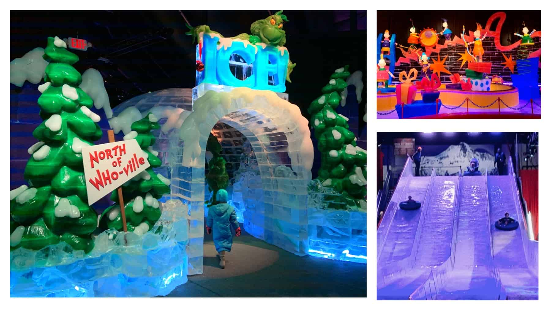 Entrance to ICE! Featuring the Grinch at Gaylord National Resort
