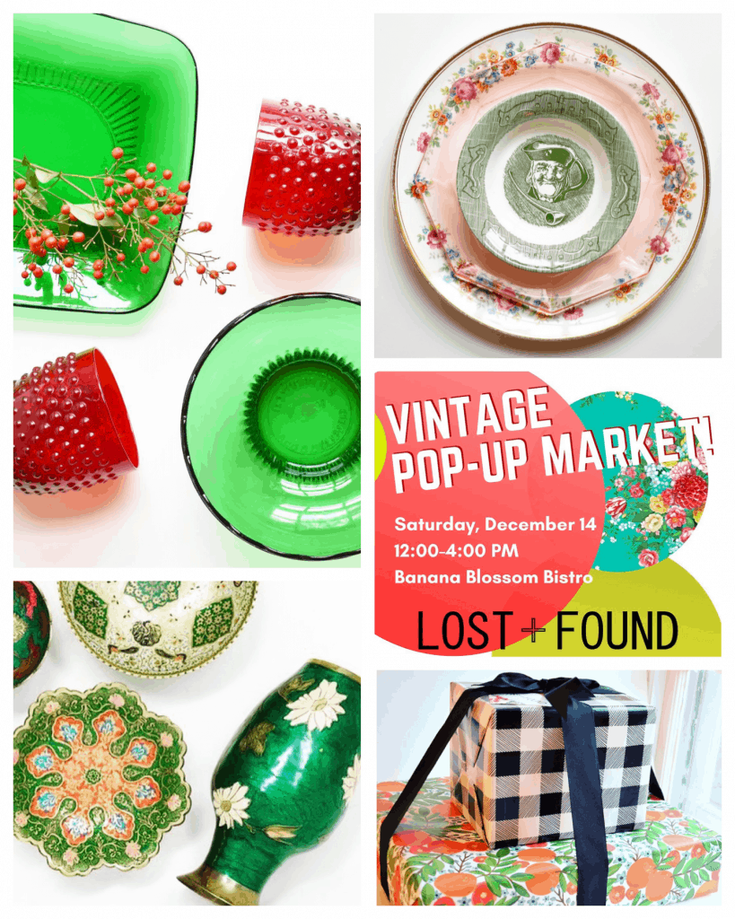 Vintage Pop-Up Market this Saturday in Riverdale Park