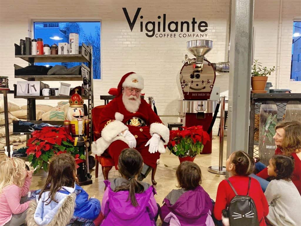 Storytime, photos and more with Santa!