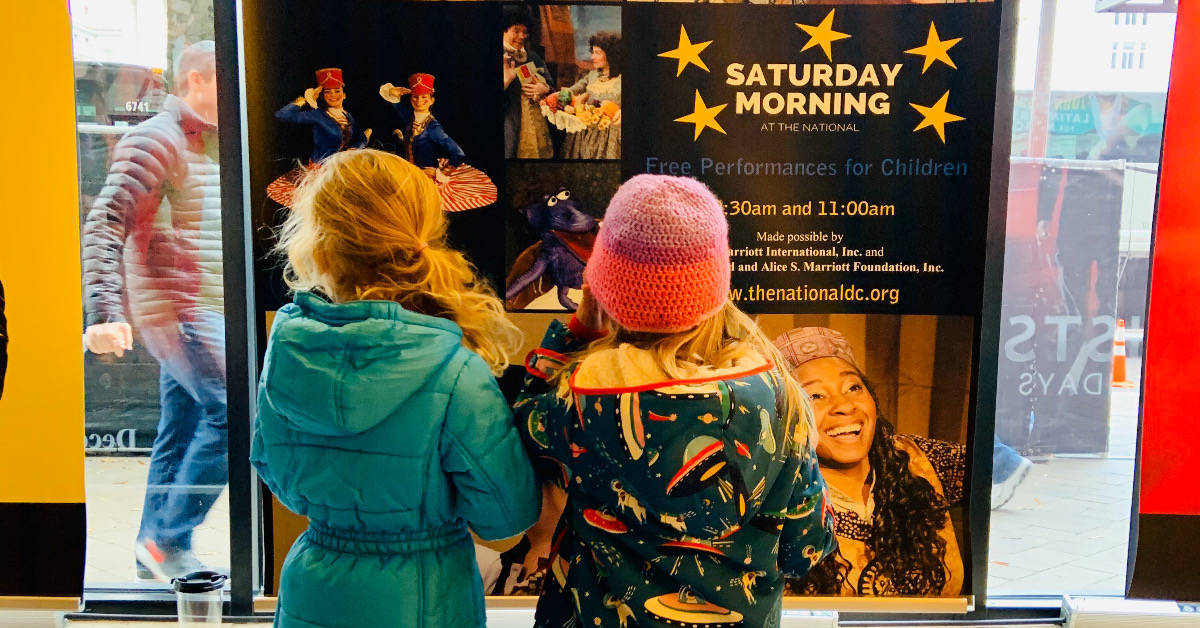 Saturday Morning Live at the National Theatre DC