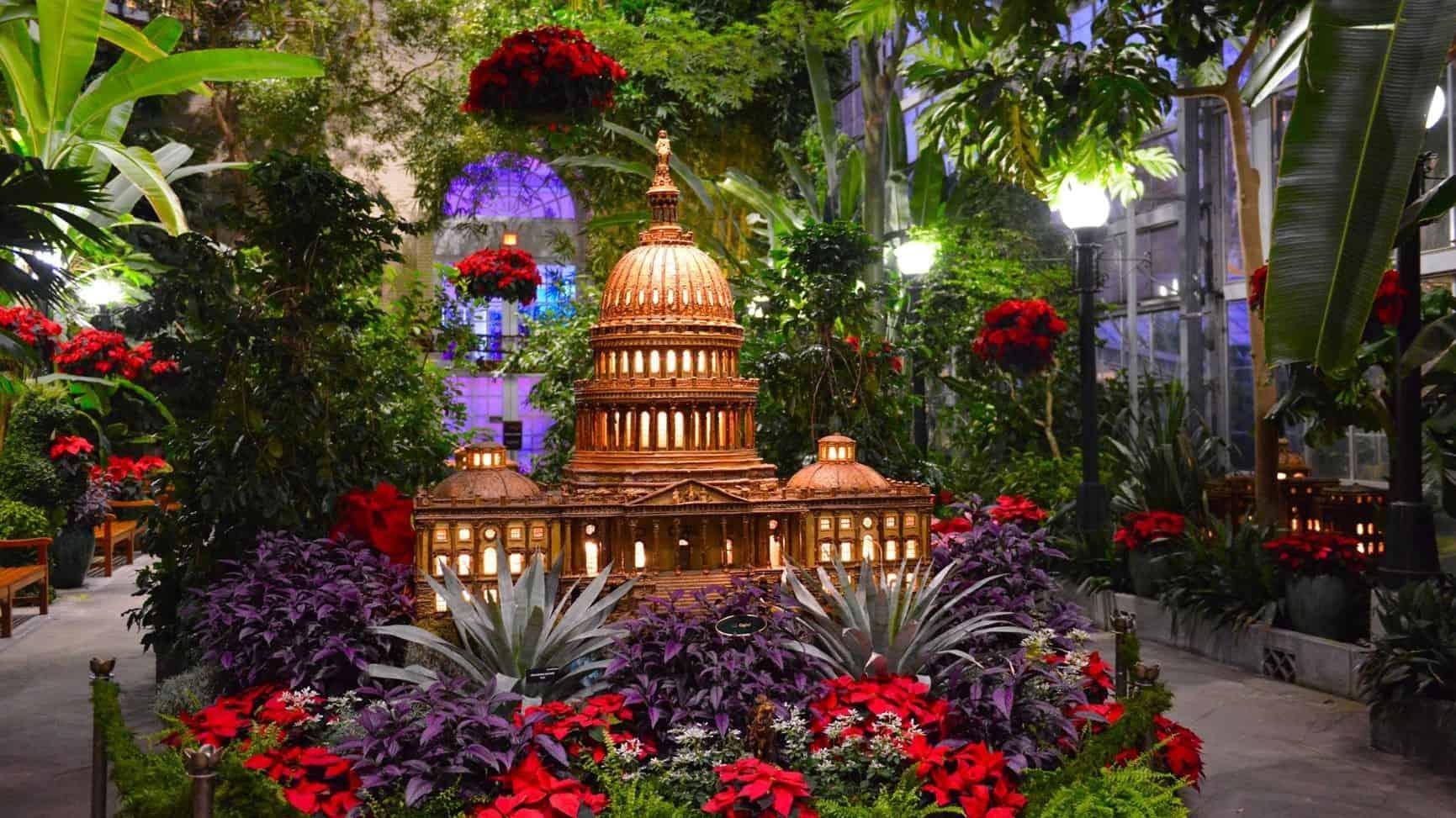 Season's Greenings at US Botanic Gardens