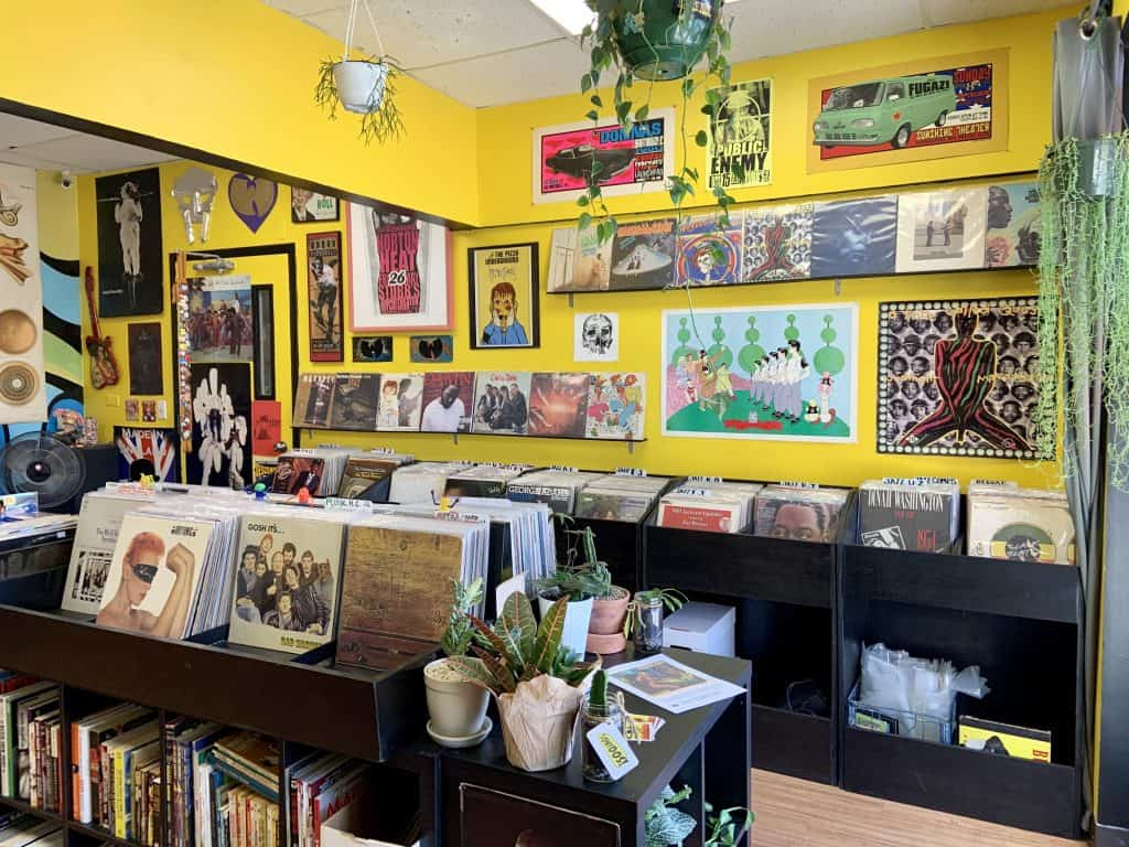 Inside new record store in Beltsville