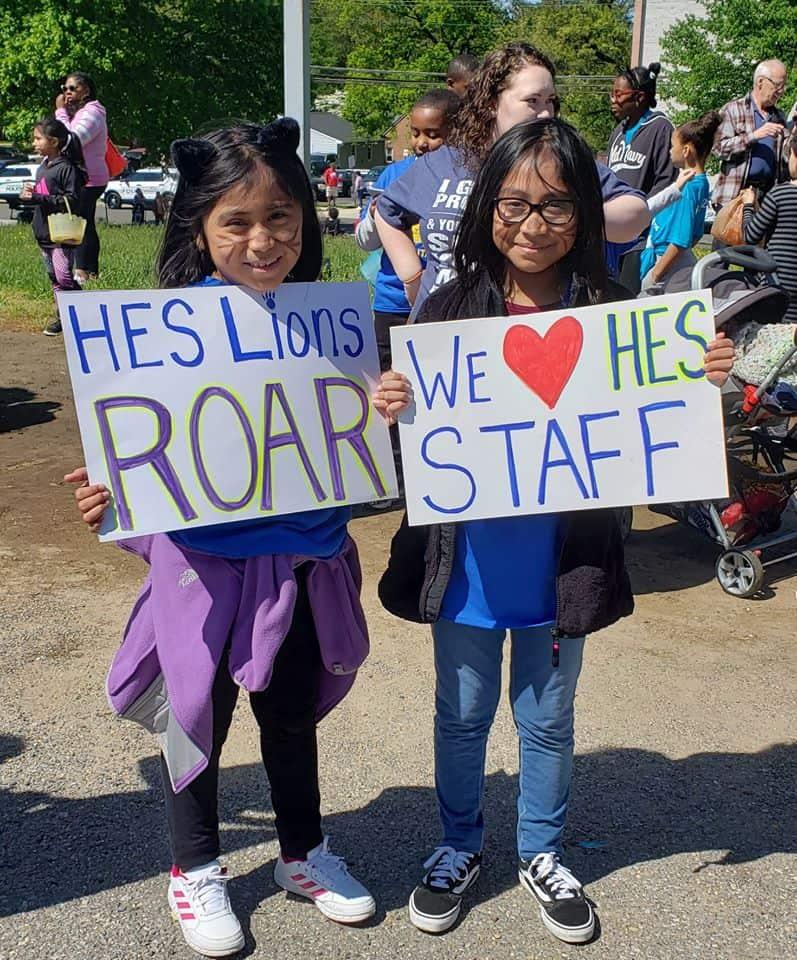 Parade at Hyattsville Elementary School