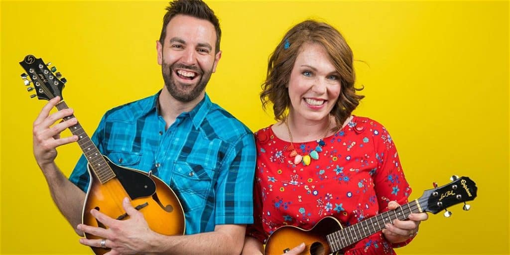 Mr. John & Carrie perform at the National Theatre Kids show