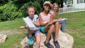 Summer Camp Fun at Art Works Now