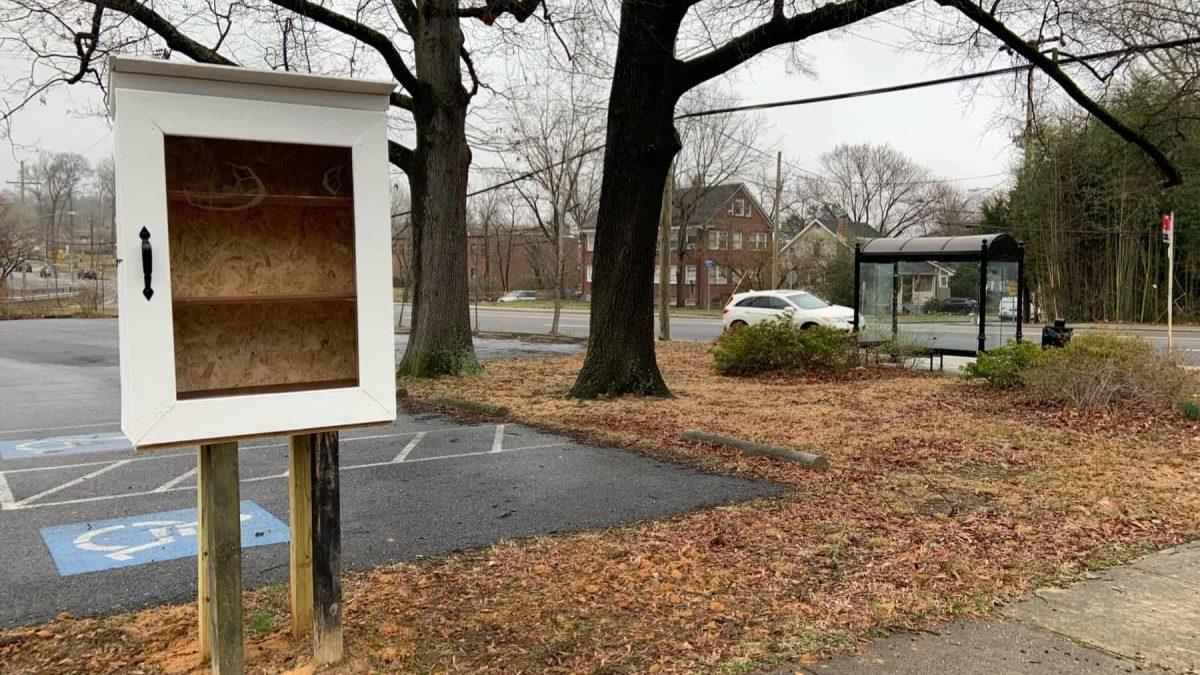 Little Free Community Cupboard in University Park