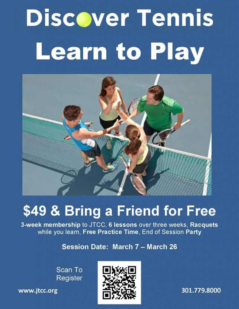 Discover Tennis at the JTCC