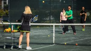 Learn to play tennis at the JTCC