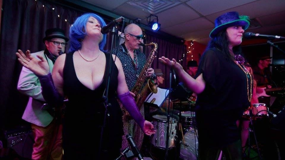 Mardi Gras at New Deal Cafe this weekend