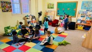 Preschoolers having fun at UCNS College Park