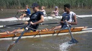 Sculling Camp at the Washington Rowing School