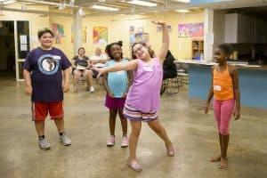 Kids have fun at Spring Break Theatre Camp