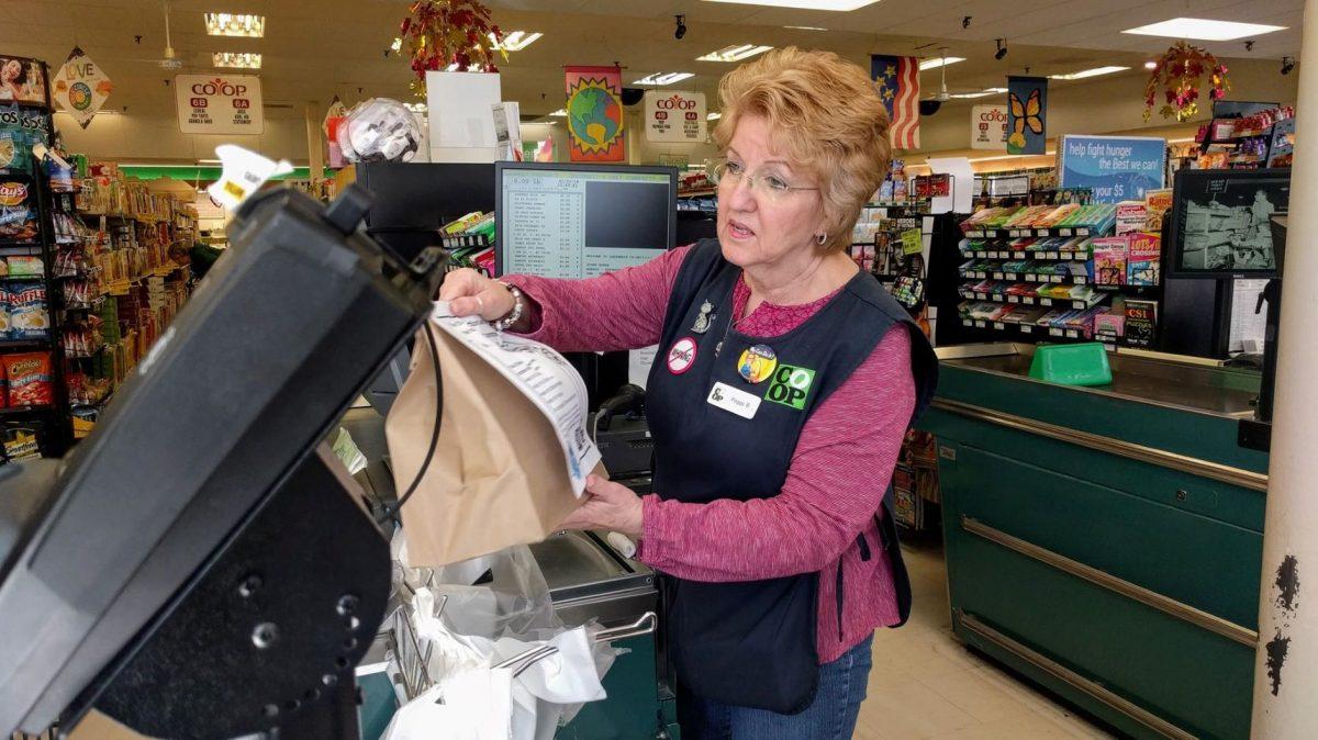 Cashier at Greenbelt Coop