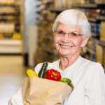 seniors-only grocery shopping near Route 1 corridor