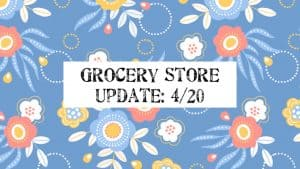 Grocery Store Update Time