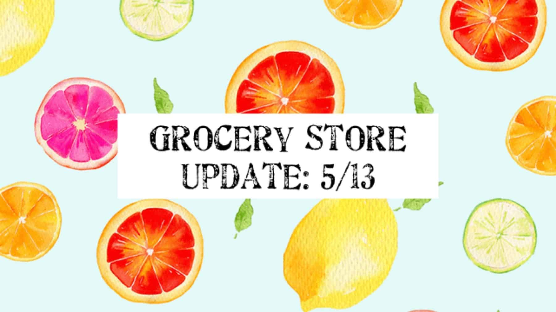 Grocery Store Update Route 1