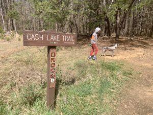 Cash Lake Trail Patuxent