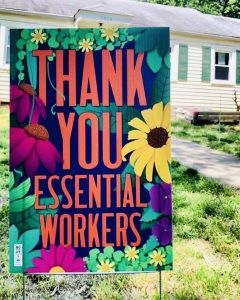 SoHy Coop's Thank You Yard Sign by Clara Cornelius