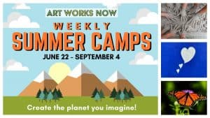 Art Works Now Virtual Weekly Summer Camp