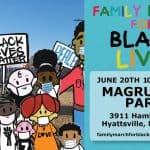 Family March for Black Lives at Magruder Park, Hyattsville