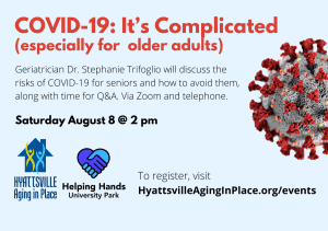 COVID-19 Guidance for Older Adults