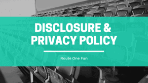 Disclosure and Privacy Policy for Route One Fun