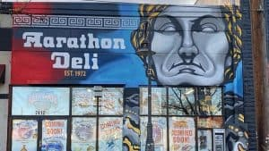 Marathon Deli in College Park gets new mural