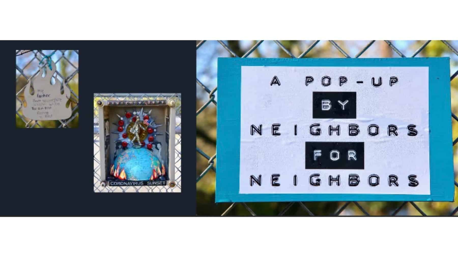Community Lost and Found Pop-Up Art Brentwood