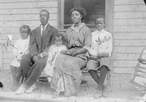 The Randall Family, circa 1913