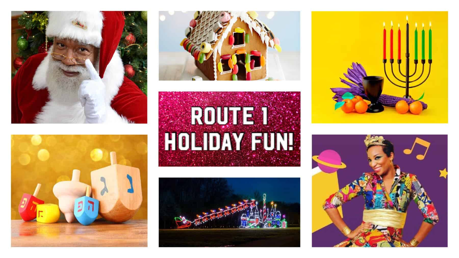 Route 1 Holiday Fun Guide