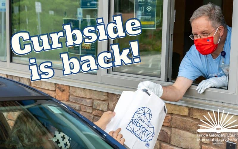 PGCMLS' Curbside Pickup is Back!