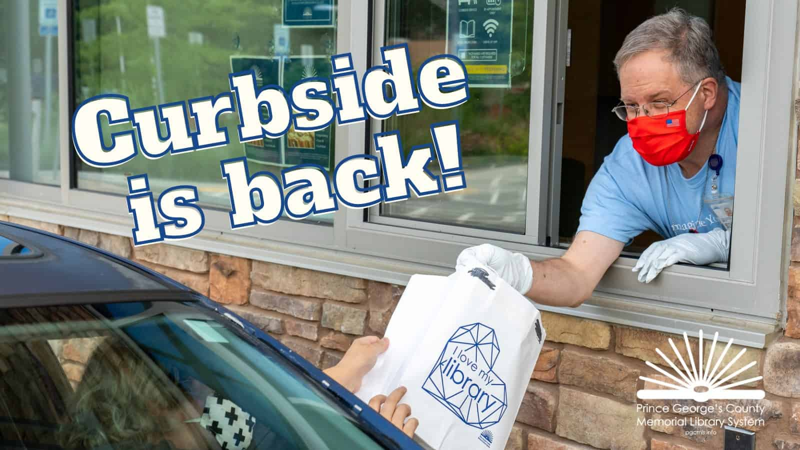 Curbside Pickup at PGCMLS