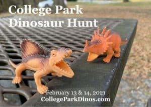 College Park Dinosaur Hunt