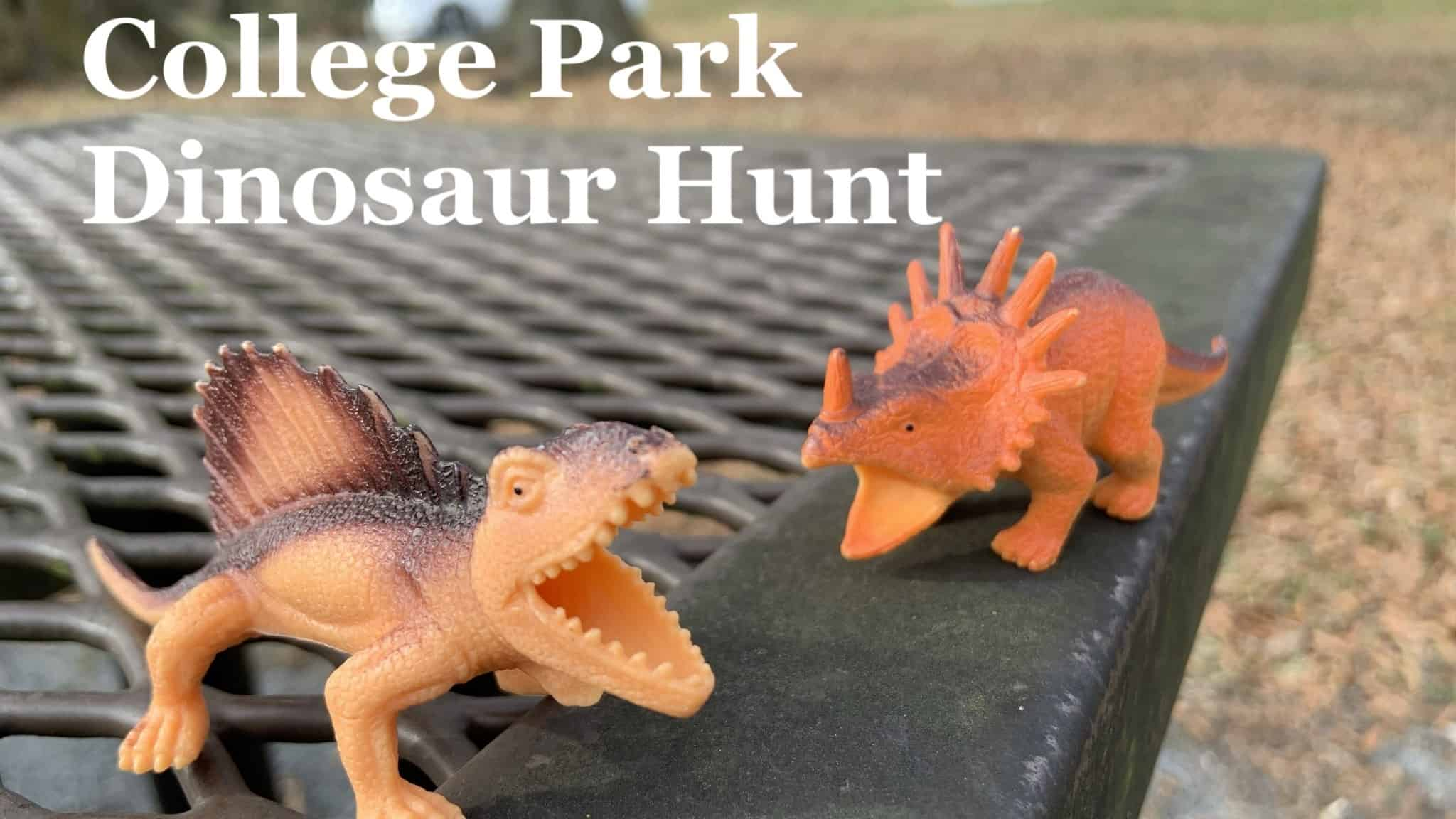 College Park Dinosaur Hunt is this weekend