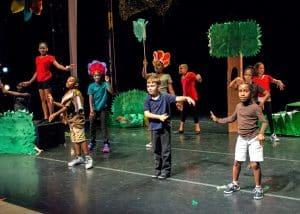 Myths and Legends, drama spring break camp