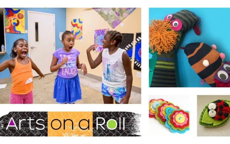 Kids' Embroidery, Puppetry & Clowning Summer Classes