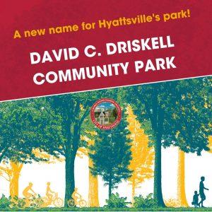 Driskell Community Park, flyer