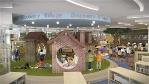 Hyattsville Library Kids Discovery Room