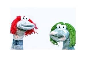 No sew puppet