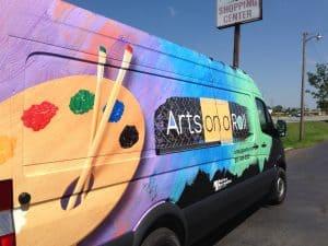 Arts on a Roll van