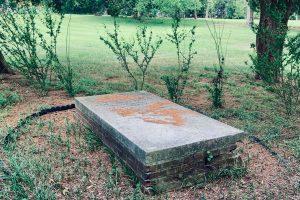 L'Enfant burial site in Lewisdale