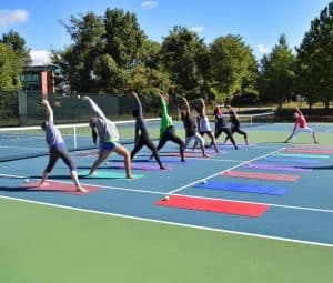 Yoga at the JTCC